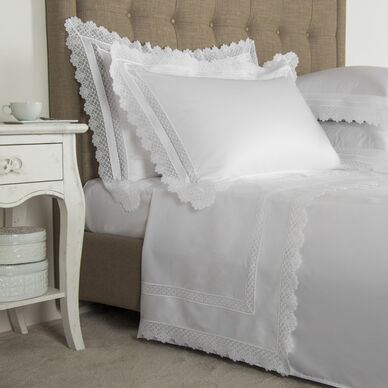 Macramé Pizzo Sheet Set