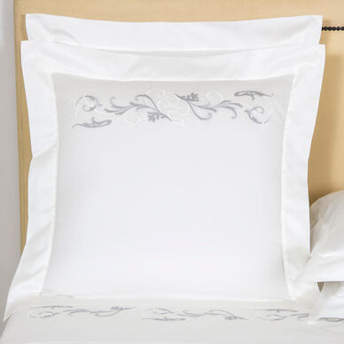 Tracery Embroidered Euro Sham image