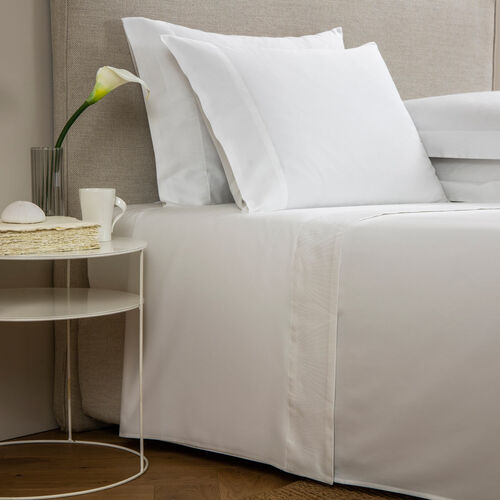 Imperial Border Sheet Set White