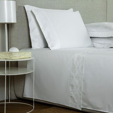 Gant Border Sheet Set White image