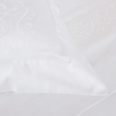 Ornate Medallion Embroidered Duvet Cover