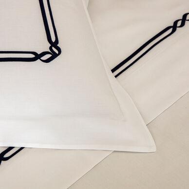 Frame Embroidered Duvet Cover hover image