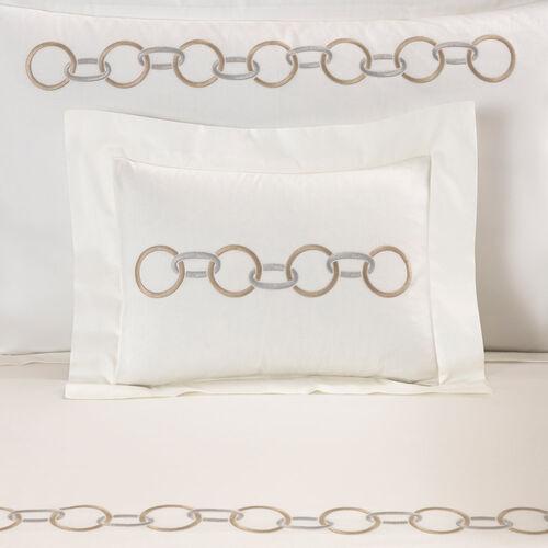 Links Embroidered Sham