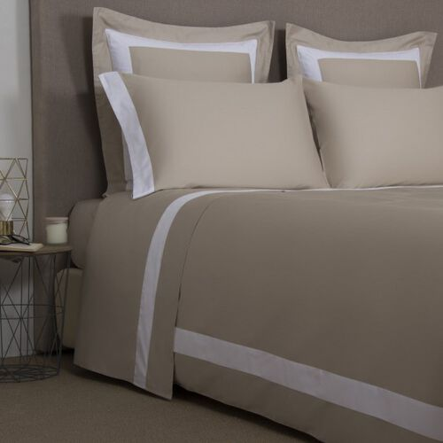 New Horizon Duvet Cover Khaki