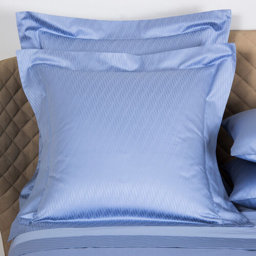 Taormina Euro Pillowcase Sky Blue