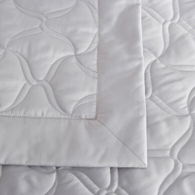 Girandole Embroidered Light Quilt hover image