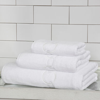 Links Embroidered Bath Towel