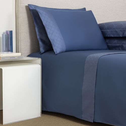 Terragona Border Sheet Set Brit Blue