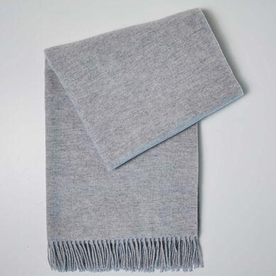 Merinos Throw - Pearl Grey image