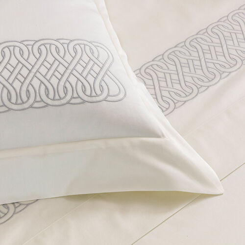 Auspicious Embroidered Sheet Set