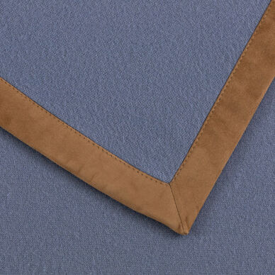 Cashmere & Suede Throw hover image
