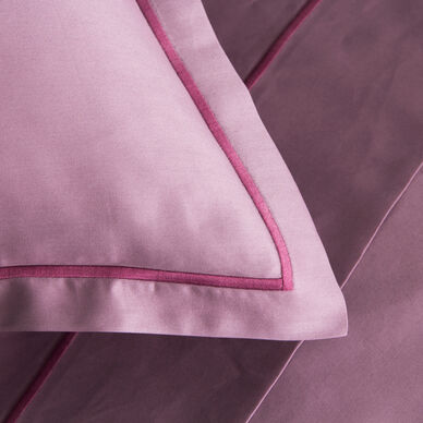 Amelia Euro Pillowcase Lilac