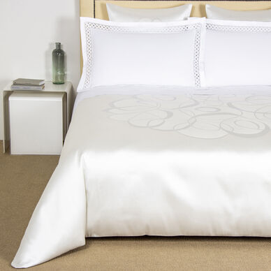 Luxury Sparkling Swirl Duvet Cover image