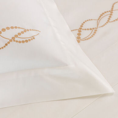 Pearls Embroidered Duvet Cover hover image