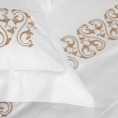 Ornate Medallion Embroidered Duvet Cover hover image