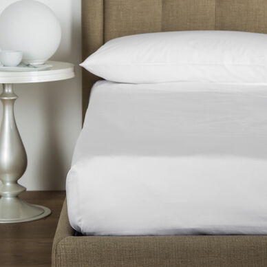 Cotton Percale Flat Bottom Sheet