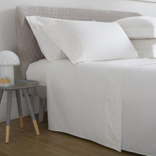 Gant Border Sheet Set Ivory
