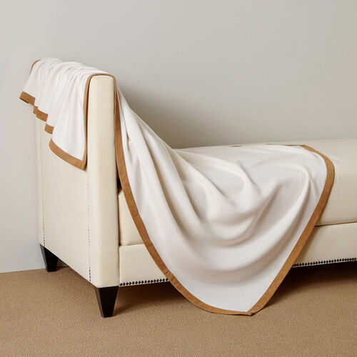 Cashmere & Suede Throw
