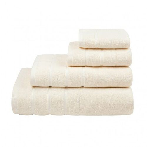 Lanes Border Bath Towel Cream