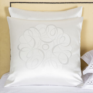 Luxury Sparkling Swirl Decorative Pillow image