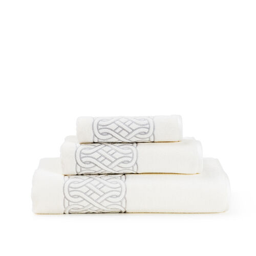 Auspicious Embroidered Bath Towel