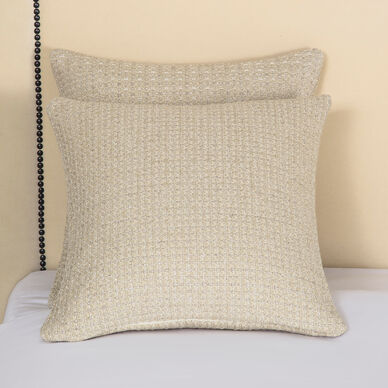 Luxury Luminescent Tweed Decorative Pillow image