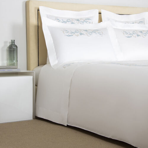Tracery Embroidered Duvet Cover