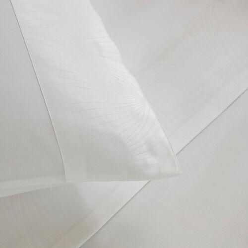Imperial Border Sheet Set White