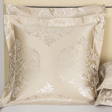 Luxury Ornate Medallion Euro Sham