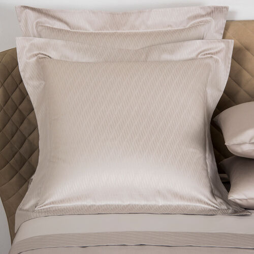 Taormina Euro Pillowcase Sand