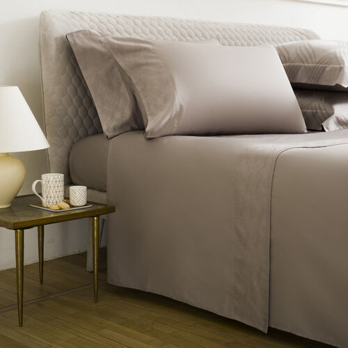 Gant Border Sheet Set Turtledove
