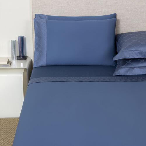 Terragona Border Sheet Set Brit Blue