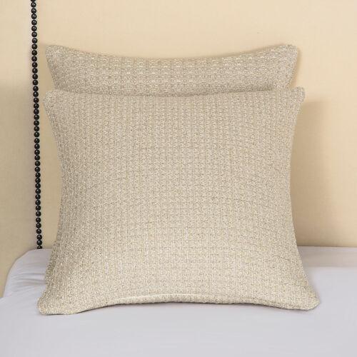 Luxury Luminescent Tweed Decorative Pillow