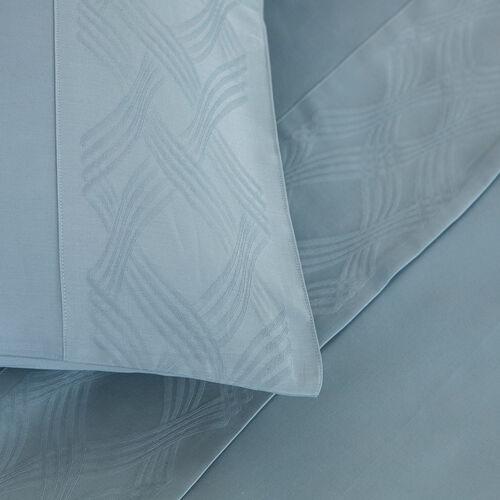 Gant Border Sheet Set Light Azure