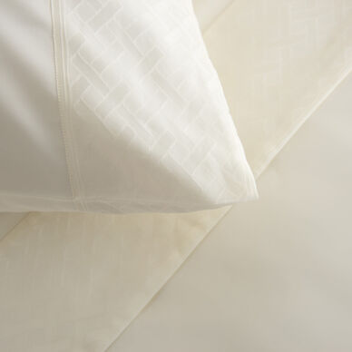 Savona Pillowcase Set Ivory