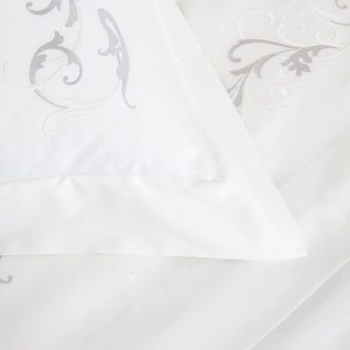 Tracery Embroidered Duvet Cover hover image
