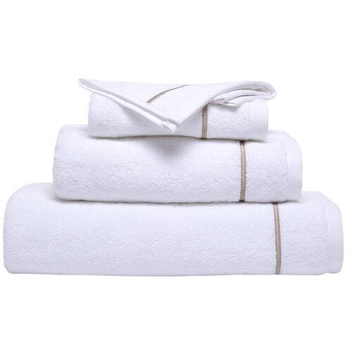 One Bourdon Bath Sheet