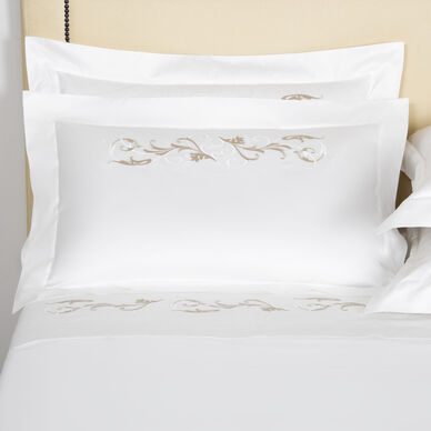 Tracery Embroidered Sham image