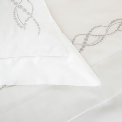Pearls Embroidered Duvet Cover