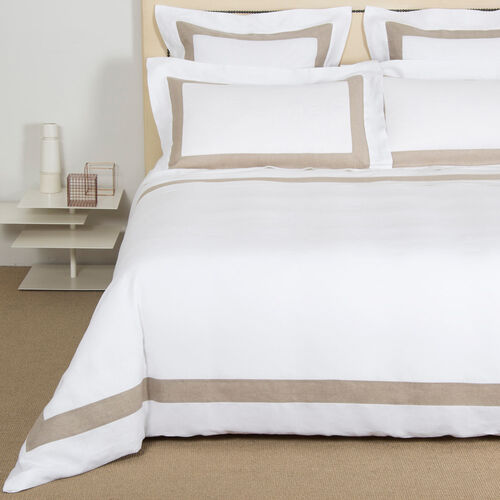 Purity Bicolore Linen Duvet Cover