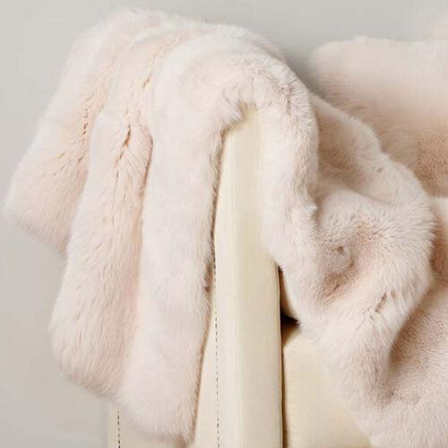 Luxury Fox Fur Throw