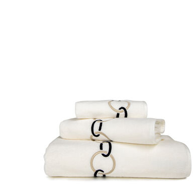 Links Embroidered Bath Towel image