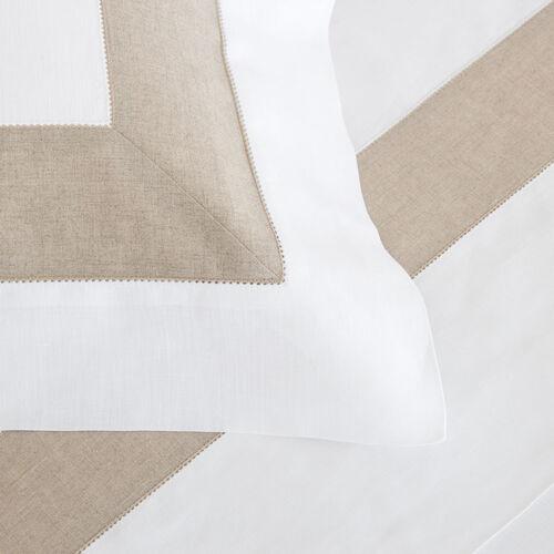 Purity Bicolore Linen Duvet Cover