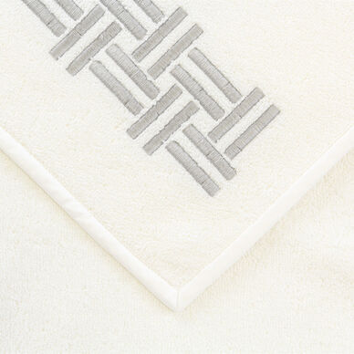 Basket Weave Embroidered Hand Towel hover image