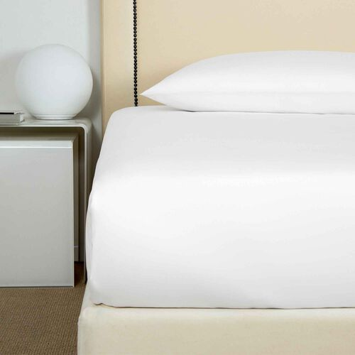 Cotton Sateen 1000 TC Fitted Bottom Sheet