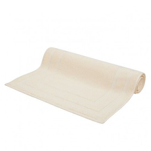 Lanes Border Bath Mat Cream