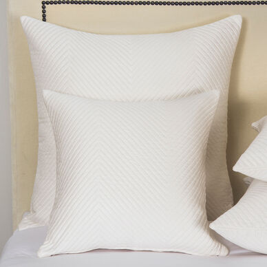 Luxury Herringbone Decorative Pillow image