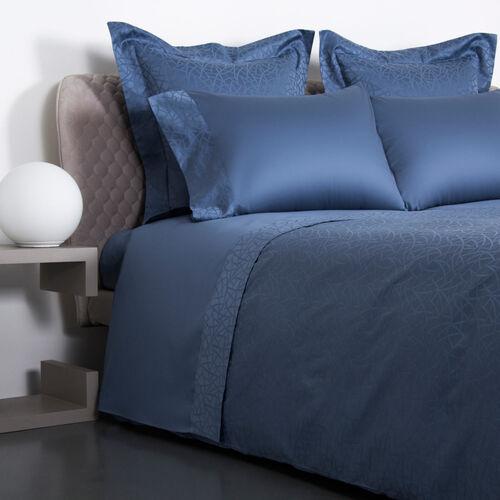 Groove Duvet Cover Blue