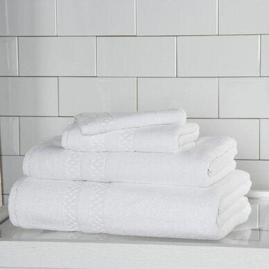 Checkerboard Bath Sheet