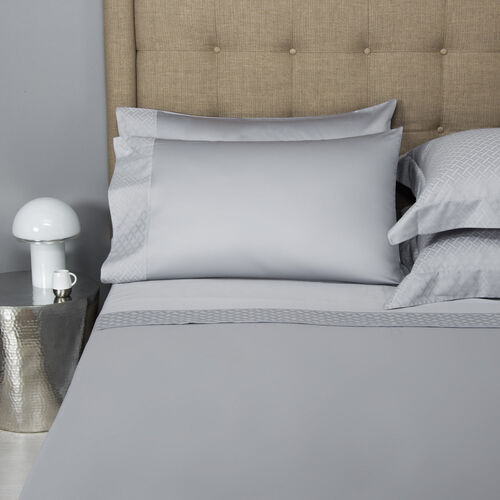 Savona Border Sheet Set Grey